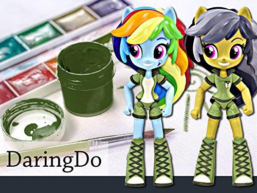 How to Make a Custom Daring Do & Rainbow Dash Mini Doll (Pony Treats)