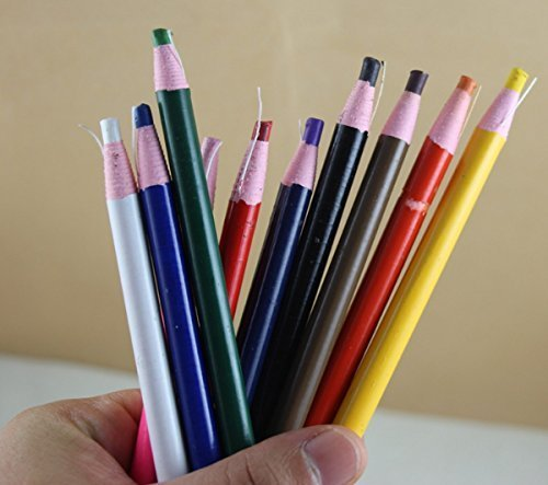 10 COLOR CHINA MARKERS PEEL-OFF GREASE PENCIL