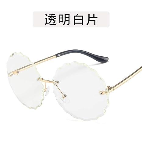 Yangjing-hl Gafas de Personalidad Gafas de Personalidad ...