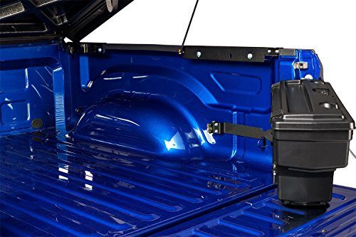 F350 Ford Pickup Tailgate (Undercover SC200P SwingCase Truck Storage Box 1999-2016 F-250/F-350 Super Duty Passenger Side Black)