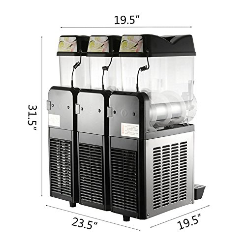 VBENLEM Frozen Drink Machine (Triple Bowls) by VBENLEM (Image #2)