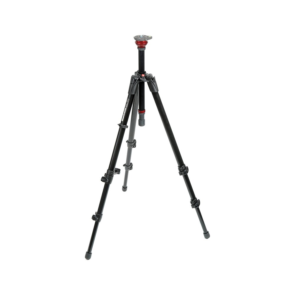 Manfrotto 755XB MDEVE Aluminum Tripod with Built in 50mm Ball Leveler