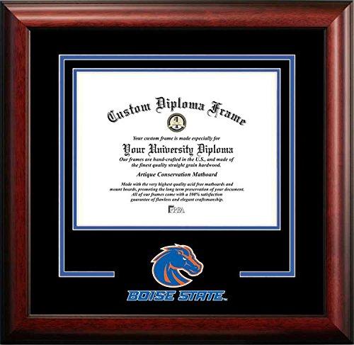 Boise State University Broncos - College Mascot - Spirit Mat Cutout - Diploma Frame (Spirit Diploma University Frame State)