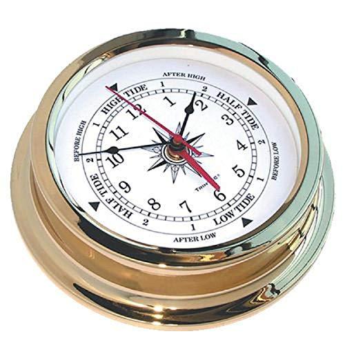 (Trintec Solaris Brass Time & Tide Clock)