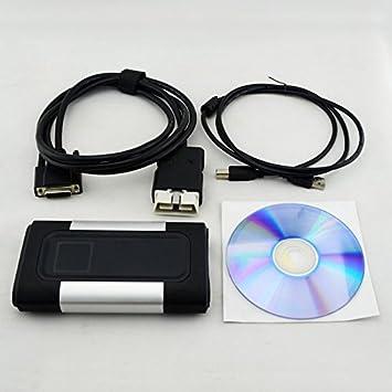 Diagnostic laptop + 8 car cables + Delphi 2015 3 (the latest