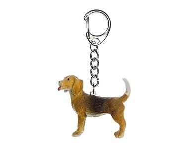 miniblings Beagle Anillo de Llavero llaveros Casa Perro de Mascota: Amazon.es: Joyería