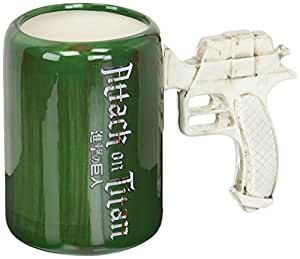 Surreal Entertainment Attack on Titan: 3D Maneuvering Gear Handle Molded Mug