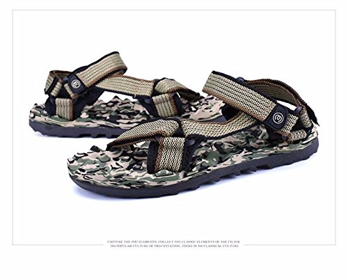 Estate la nuova Roma flip flop spiaggia coppia Sandali outdoor tempo libero Trendflip flop primavera uomini sandali, marrone, US = 9, UK = 8,5, EU = 42 2/3, CN = 44