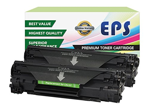 EPS Compatible Toner Cartridges Replacement for Canon 137 fo