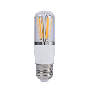 Zerodis Bombilla de filamento led, 12V Tornillo Socket E27 Led de Ahorro de energía Brillante
