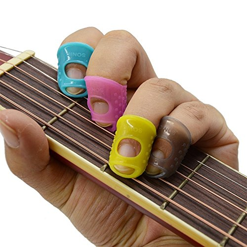 Guitar Fingertip Protectors : guitar bass accessories large medium small size fingertip protectors silicone 842411180274 ebay ~ Russianpoet.info Haus und Dekorationen