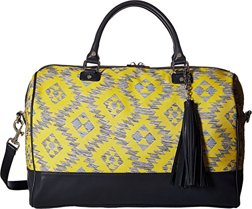 deux-lux-womens-rio-weekender-yellow-luggage