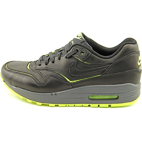 Nike Air Max 1 Cut Out Premium womens fashion-sneakers 644398 Black/Black-volt-dark Grey discount get to buy best cheap price free shipping cheap online 9QCPNy