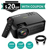 Best Hd Projectors - Projector, ABOX A2 720P Portable Projector, 3000 Lumens Review