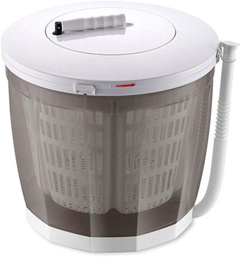 Handcranking Mini Washer - Lavadora manual con descarga automática, ciclo de lavado doble, diseño compacto, protección del medio ambiente