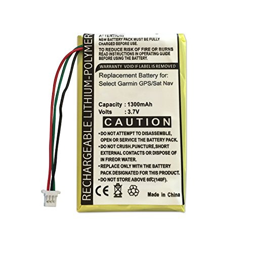 ABC Products Replacement Garmin Rechargeable Battery for Nuvi 1400, 1440, 1450, 1490, 1490T, 1690, 1690T, 200, 200w, 205, 205T, 205W, 250, 205WT, 252, 255, 255T, 255W, 255WT, 252w, 260, 260w, 260WT,]()