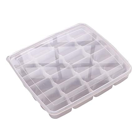 ofvsdhftgj Dumpling Frozen caja caja nevera almacenamiento comida ...