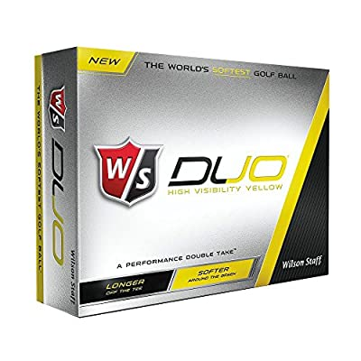 2 Dozen NEW Wilson Staff DUO Golf Balls 24 Balls - Yellow
