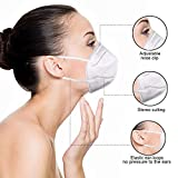 200pcs White Breathing Cloth Dust Face Mouth Mask