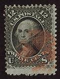 1867-68 Scott 90 Twelve Cents 12c Black