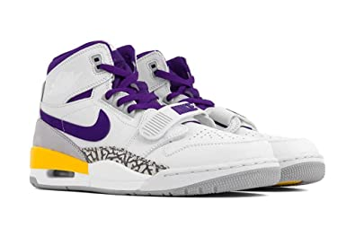 b15cddd6ae8 Amazon.com | Air Jordan Legacy 312 White/Field Purple-Amarillo (11.5 ...