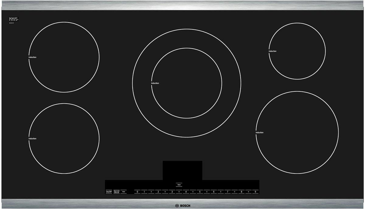 Bosch HBL8451UC 800 30'' Stainless Steel Electric Single Wall Oven - Convection