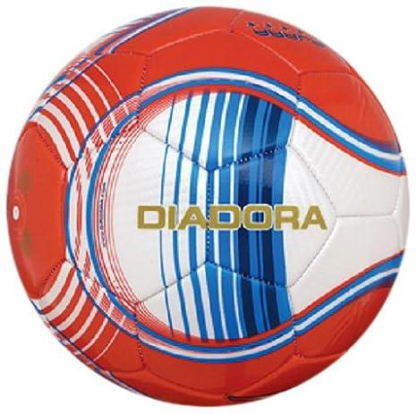 Amazon.com: Diadora Liga Guadalajara Soccer Ball (White/Red ...