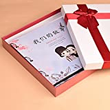 diy album handmade creative couple romance album this album / memorial celestial couch Valentine's Day gift ( Style : 7 )