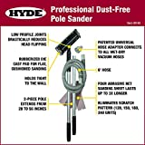 HYDE 09180 Dust-Free Vacuum Sander, Professional