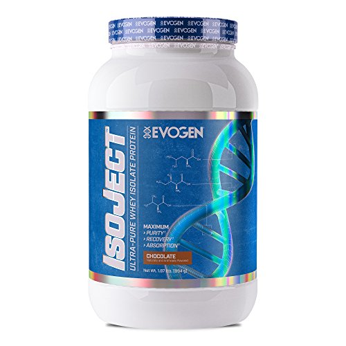 Evogen Isoject | Premium Whey Isolate w/ Ignitor Enzymes | Chocolate | 28 Servings …