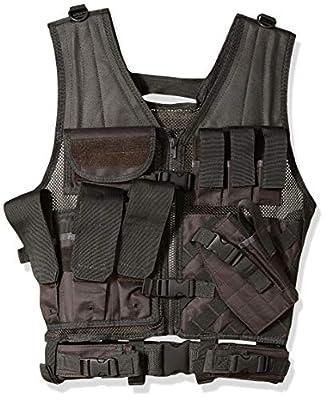 NC Star Tactical Vest, Urban Gray, Large-2X