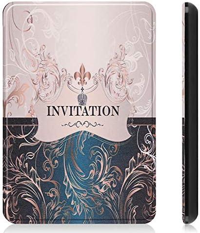 MAXKU /Étui pour Kindle Paperwhite 10/ème g/én/ération Flip Super l/éger, ,Housse pour Kindle Paperwhite 2018,Fermeture magn/étique avec Mise en Veille Automat 10/ème g/én/ération, mod/èle 2018
