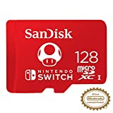 SanDisk 128GB MicroSDXC UHS-I Memory Card for Nintendo Switch - SDSQXAO-128G-GNCZN: more info