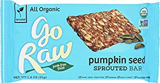 product image for Go Raw (ONLY 1 BAR) Organic Pumpkin Sprouted Bar