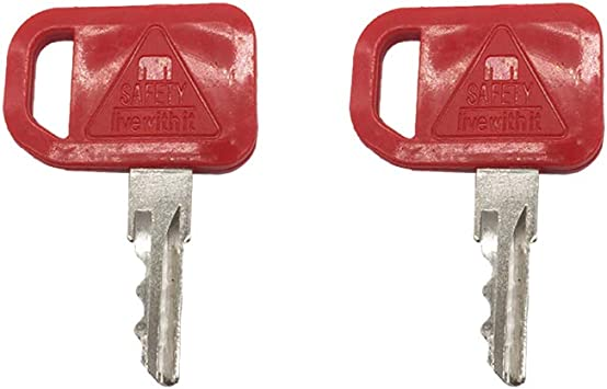 Skid Steer Ignition Keys for John Deere T209428 2 keys Pair