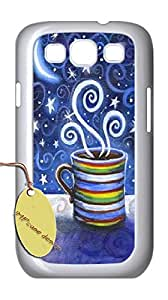 Imported samsung galaxy s3 Phone Case,Customize coffee love Case with HHRI9270732.