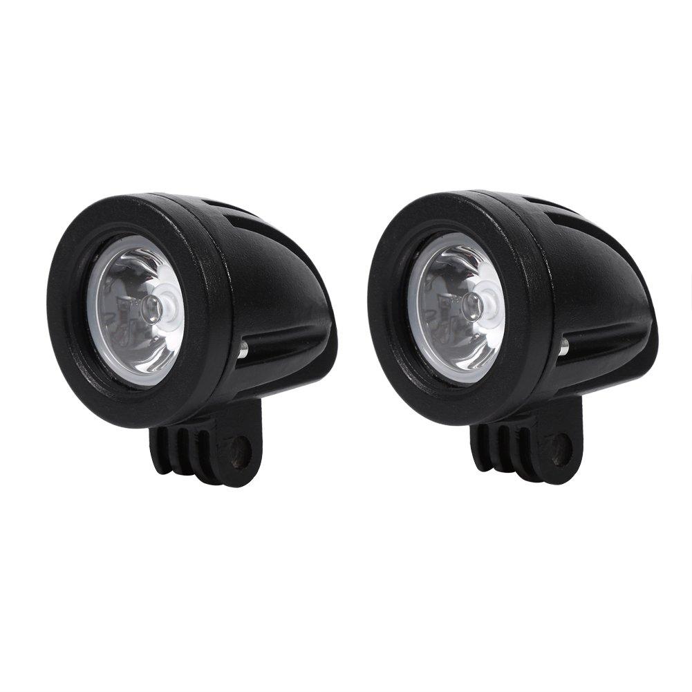 Faros Para Moto LED 10W Alta Potencia L/ámpara De Motocicleta Faro De Niebla Luz De Trabajo 1 Par