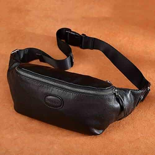 Best Quality - Waist Packs - New Design Men Waist Packs Genuine Leather  Fashion Purse Large b69ec83c673ac