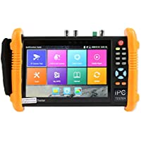 Electop 6 IN 1 IP Camera Tester 7 Inch IPS HD TFT-LCD CCTV Tester IP/Analog/HD-TVI/HD-CVI/AHD/SDI with IP discovery / Rapid ONVIF / POE / Build in WIFI / 8G TF Card 1080P HDMI ET-ADHS9800