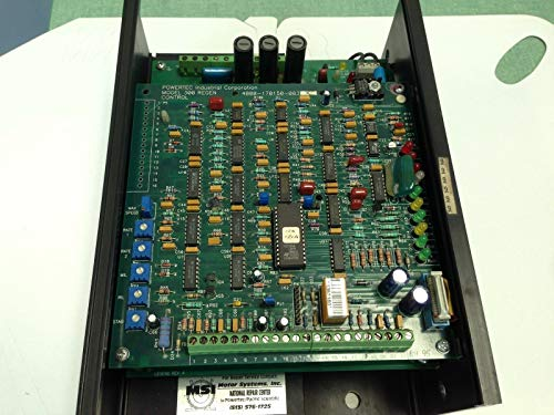 USED POWERTEC C0-5-3R2CH000 BRUSHLESS CONTROLLER,4.4 A 1/4-1/2HP 300 REGEN FA ()