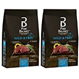 Pure Balance Wild & Free Bison, Pea & Venison Recipe Food for Dogs 24lbs (2 Pack)