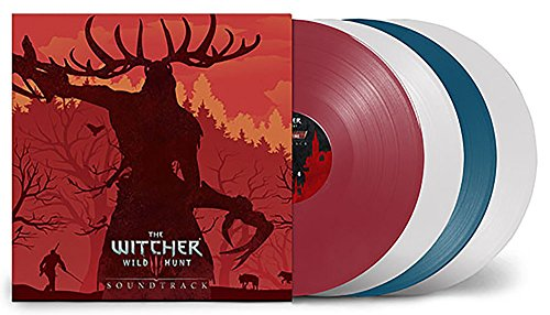 The Witcher 3: Original Game Soundtrack Exclusive Colored Deluxe 4LP Set [vinyl] Various Artists