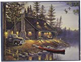 LANG - Assorted Boxed Note Cards -''Great Outdoors'' Artwork by Sam Timm - 12 Cards and Envelopes - 5.25'' x 4''