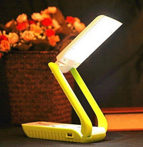 15000mAh Solar Power Bank Lamp Desktop Table Foldable Charger Universal Battery