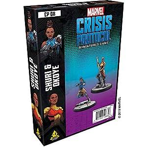 51dsFEOAjvL. SS300 Marvel Crisis Protocol: Shuri & Okoye