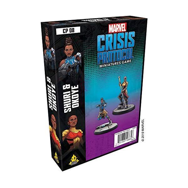 51dsFEOAjvL Marvel Crisis Protocol: Shuri & Okoye