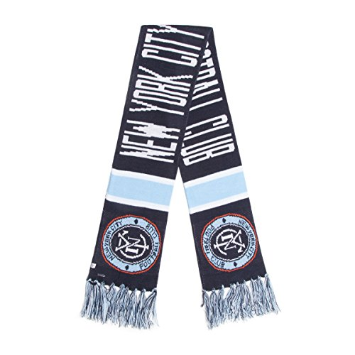 fan products of MLS New York City FC '47 Brand Breakaway Scarf, Navy, One Size fits All