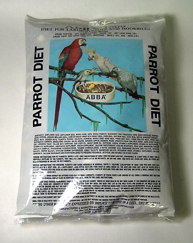 1500 Seeds (Abba 1500 Parrot Seed Diet 4 Lb)