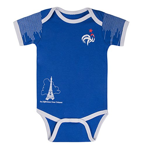 Postobon Baby Body Suits Onesies France Blue  6 12 Mos