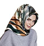 Armine 100% Silk Square Turkish Scarf Islamic Hijab Headscarf Spring 2017 #7702